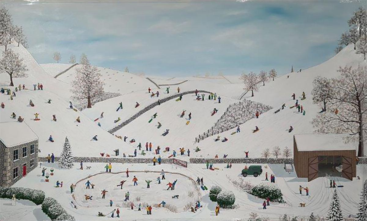 Lee Sellers - Sledging and Skating