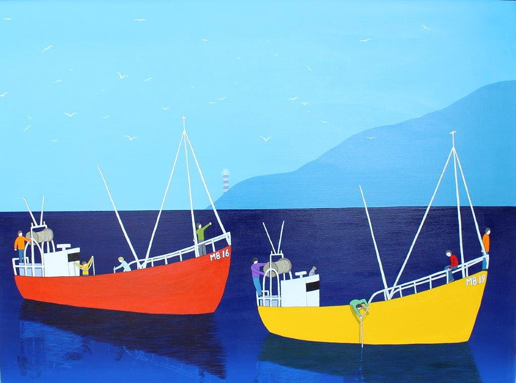 Lee Sellers - Two Boats Fishing
