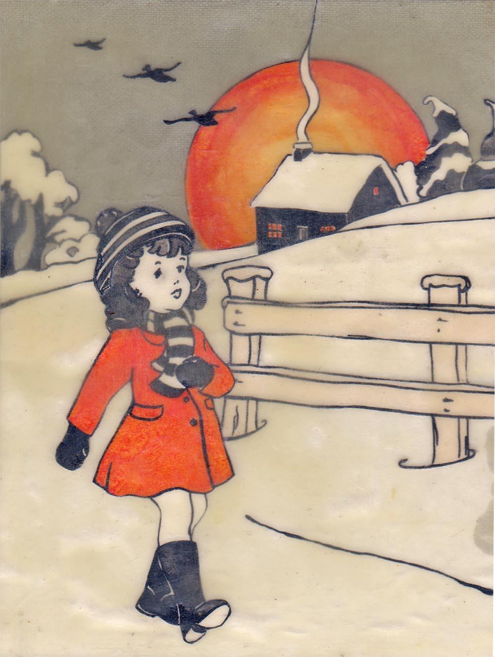 Ann Winder-Boyle - One Winters Day